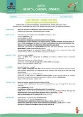 programme voyage 2019