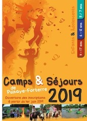 brochure camps puisaye forterre ete 2019
