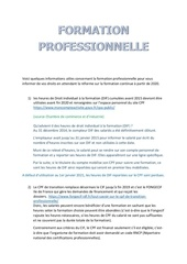 com cgt   formation professionnellle