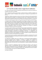 tract intersyndical   communique federal