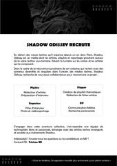 shadow recrutement