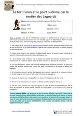 Fichier PDF fort faron et point sublime