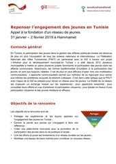 programmerepenser lengagement des jeunes en tunisie311 222019