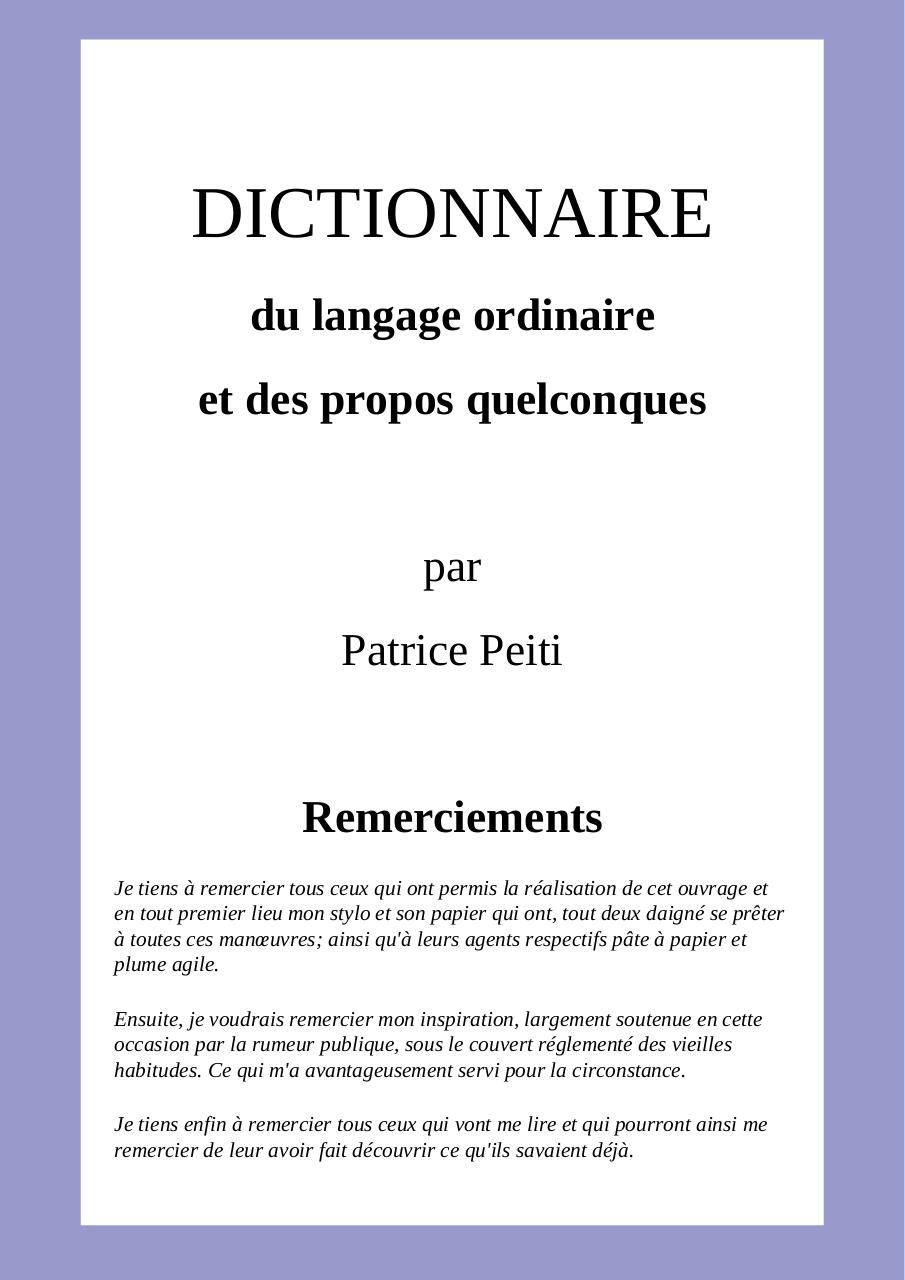 Dictionnaire vitesse datant Mo de fruits de mer branchement
