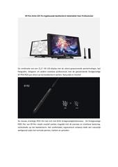 xp pen artist 22e pro beeldscherm tekentablet