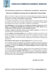 declaration du cca   08 05 2019