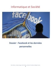facebook et les donnees personnelles  informatiquet societe