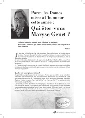pages maryse genet light