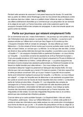 tribune presse orale   techniques redactionnelles