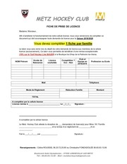 dossier inscription mhc 2019 2020