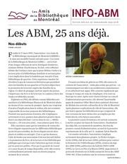 info abm 25e anniversaire