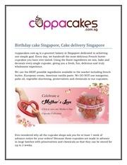 logo cupcakes singapore