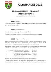 Fichier PDF 5  tir a larc   reglement 2019
