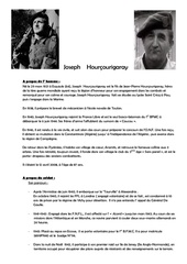 cv   joseph   hourcourigaray