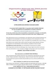 Fichier PDF lettre ouverte aux citoyens et aux gilets jaunes