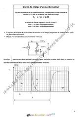 Cours Physique Resume Cours Bac Technique Pour Revision Bac