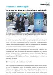 Fichier PDF le maroc en force au salon vivatech de paris
