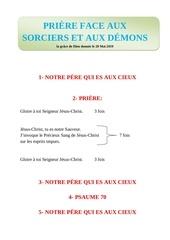 prire face aux sorciers et aux dmons by zogo el candelabro
