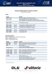 timing 2019 sarrians uec bmx european cup   v20052019