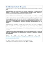 Fichier PDF conference maladie de lyme
