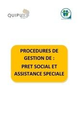 Fichier PDF procedures