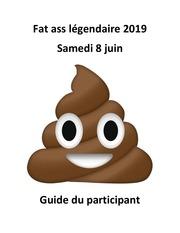 fat ass legendaire 2019   guide du participant