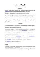 Fichier PDF fiche coryza