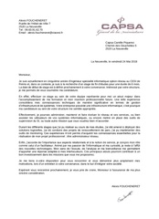 Fichier PDF lettre de motivation capsa