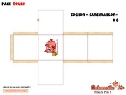 Fichier PDF print and play cochonnaille pack rouge