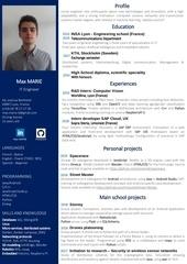 resume maxmarie