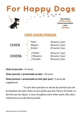 tarif chiens  version mai 2019pdf