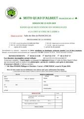 bulletin dinscriptions et charte