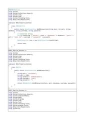 extraits codes reprises donneescs