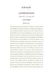 Fichier PDF csar la guerre des gaules   clan9 ebook french culture generale