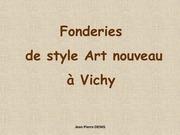 Fichier PDF fonderie art nouveau a vichy