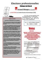 elections 1er tour du 17 juin 2019