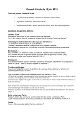 questions parents deleves conseil decole 13 juin 2019