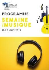 2019 semaine de la musique   programme