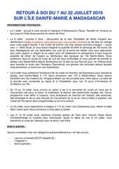 Fichier PDF infos pratiques sejour a sainte marie