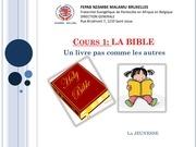 cours 1 la bible version finale
