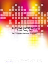 la preuve numerique en droit congolais
