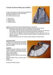 variante du patron robe pour littlefee