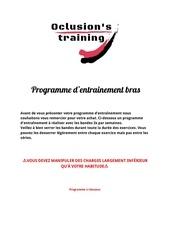 Fichier PDF programme dentrainement bras
