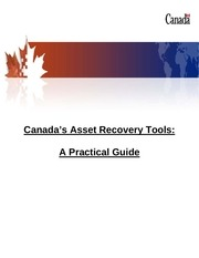 canadas asset recovery tools a practical guide