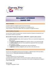 Fichier PDF dance trip   reglement interieur 20192020