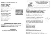 feuille de messe du dimanche 30 juin   pdf