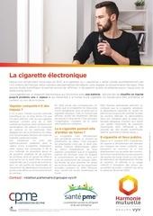 cigarette electronique harmonie mutuelle   groupe vyv sante pme