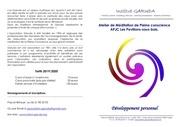 plaquette meditation institut garuda apjc