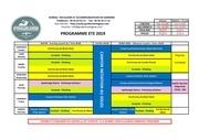 programme montagne 2019