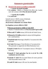 Fichier PDF annonces juillet aout